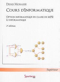 Cours d'informatique : option informatique en classe de MPSI : L1 informatique
