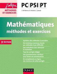 Mathématiques, méthodes et exercices PC-PSI-PT