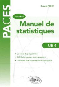 Manuel de statistiques, UE4