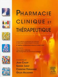 Pharmacie clinique et thérapeutique