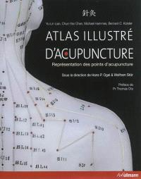 Atlas illustré d'acupuncture : représentation des points d'acupuncture