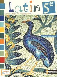 Latin, 5e : livre de l'élève