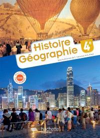 Histoire géographie 4e : nouveau programme 2016