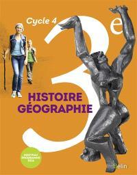 Histoire géographie 3e, cycle 4 : nouveau programme 2016