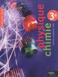 Physique chimie 3e : programme 2009