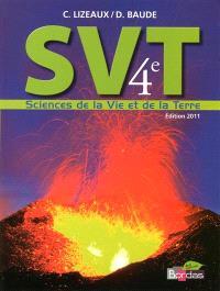 SVT sciences de la vie et de la Terre 4e