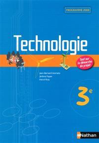 Technologie 3e : programme 2009