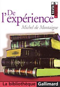 De l'expérience, chapitre 13 du livre III des Essais