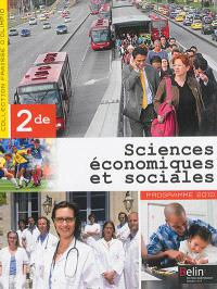 Sciences économiques et sociales, 2de : programme 2010