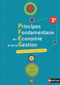 Principes fondamentaux de l'économie et de la gestion, 2e : enseignement d'exploration