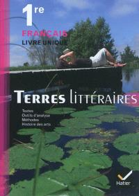 Français livre unique 1re : manuel de l'élève