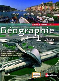 Géographie 1re L-ES-S : programme 2011 : format compact