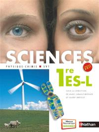 Sciences : physique-chimie, SVT : 1re ES-L, grand format