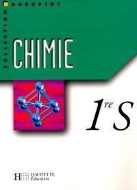 Chimie première S : livre élève