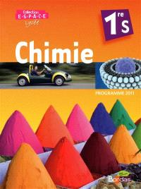 Chimie 1re S : programme 2011 : grand format
