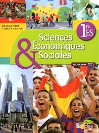 Sciences économiques & sociales, 1re ES : programme 2011