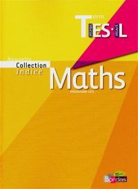 Maths terminale ES spécifique, L spécialité : programme 2012 : petit format