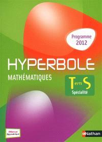 Mathématiques terminale S, spécialité : 2012