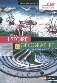 Histoire et géographie, éducation civique, CAP : nouveau programme