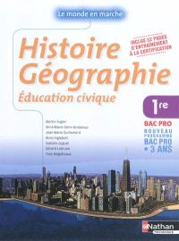 Histoire géographie, 1re bac pro : nouveau programme bac pro 3 ans