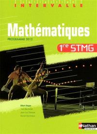 Mathématiques 1re STMG : programme 2012