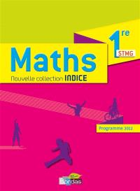 Maths 1re STMG : programme 2012 : grand format