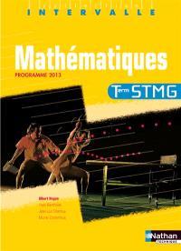 Mathématiques, terminale STMG : programme 2013