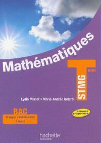 Mathématiques, terminale STMG : nouveau programme : format compact