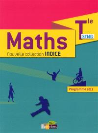 Maths terminale STMG : programme 2013