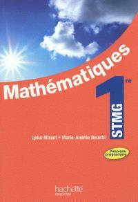 Mathématiques 1re STMG : nouveau programme : format compact