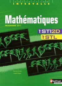Mathématiques, 1re STI2D, 1re STL : programme 2011