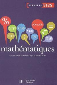 Mathématiques première ST2S