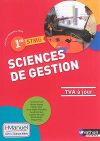 Sciences de gestion, 1re STMG : TVA à jour
