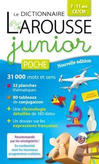 Dictionnaire Larousse junior poche, 7-11 ans, CE-CM