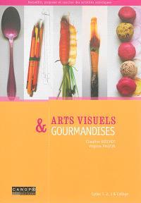 Arts visuels & gourmandises : cycles 1, 2, 3 & collège
