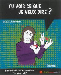 Tu vois ce que je veux dire ? : dictionnaire bilingue des expressions français-LSF