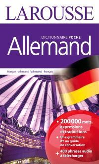Allemand : dictionnaire de poche : français-allemand, allemand-français