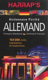 Harrap's dictionnaire poche : français-allemand, allemand-français