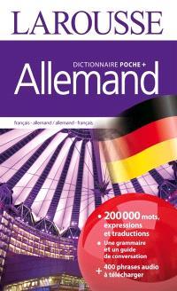 Allemand : dictionnaire de poche plus : français-allemand, allemand-français