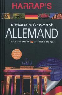 Harrap's allemand : dictionnaire compact français-allemand, allemand-français