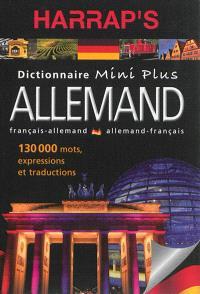 Harrap's dictionnaire mini plus allemand : français-allemand, allemand-français