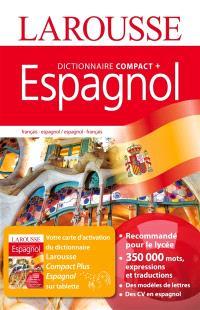 Dictionnaire compact plus français-espagnol, espagnol-français = Diccionario compact plus francés-espanol, espanol-francés