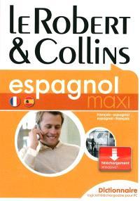 Le Robert et Collins maxi espagnol, version boite sur PC : dictionnaire français-espagnol, espagnol-français