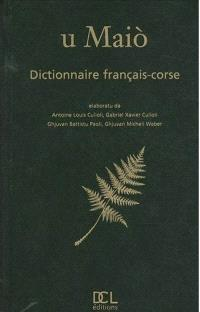 U maio : dictionnaire français-corse