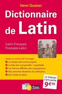 Dictionnaire de latin : latin-français : français-latin