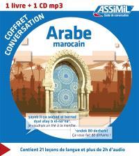 Coffret conversation arabe marocain