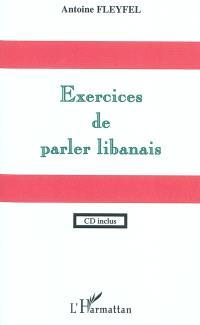 Exercices de parler libanais
