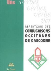 Répertoire des conjugaisons occitanes de Gascogne