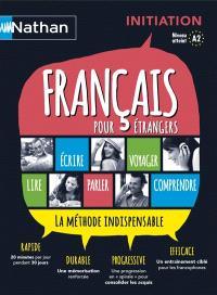 Français pour étrangers : coffret initiation : la méthode indispensable