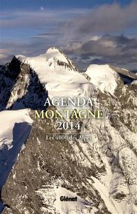 Agenda montagne 2014 : les 4.000 des Alpes